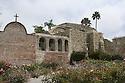 Church bells and ruins at San Juan Capistrano