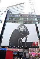 Lauren Hutton in the H&M Autumn Fashion Campaign