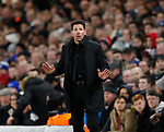 Diego Simeone manager of Atletico Madrid during the Champions League Group C match at the Stamford Bridge, London. Picture date: December 5th 2017. Picture credit should read: David Klein/Sportimage