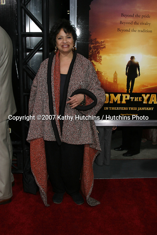 "Debbie Allen.""Stomp the Yard"" Premiere.ArcLight Theaters.Los Angeles,  CA.January 8, 2007.©2007 Kathy Hutchins / Hutchins Photo...."
