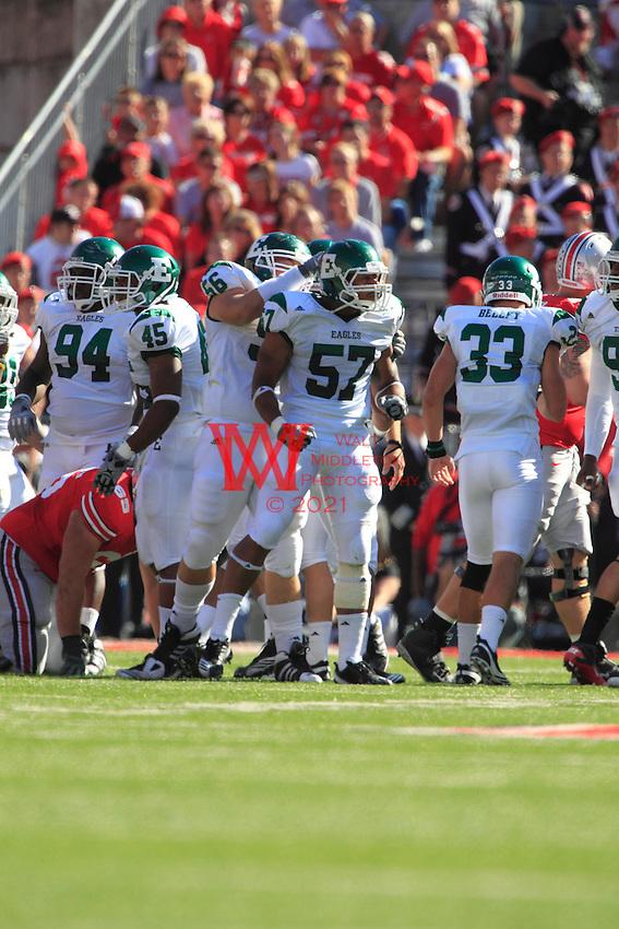 Eastern Michigan University Football team @ The Ohio State University, Columbus, Ohio.09-25-2010