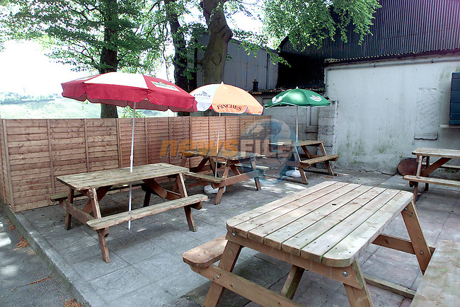 The new beer garden in the Fisherman's Wharf..Picture Paul Mohan Newsfile
