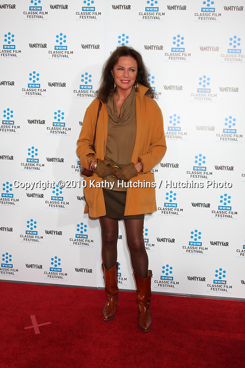 ".Jackie Bissett.arrives at the ""A Star is Born"" Restored Print World Premiere , part of the Turner Classic Movie Channel Classic Movie Festival.Grauman'S Chinese.Los Angeles, CA.April 22, 2010.©2010 Kathy Hutchins / Hutchins Photo..."