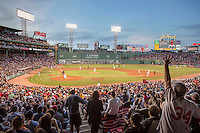 Red Sox vs Phillies at Fenway Park, evening, Boston, MA