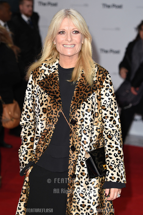 Gaby Roslin at the European premiere of &quot;The Post&quot; at the Odeon Leicester Square, London, UK. <br /> 10 January  2018<br /> Picture: Steve Vas/Featureflash/SilverHub 0208 004 5359 sales@silverhubmedia.com