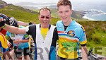 Seamus and Cathal McLoughlin, Tralee at the Ring of Kerry cycle on Saturday.