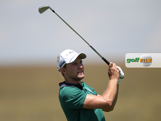 Maximilian  Kieffer (GER) cards a 70 during Round Two of The Tshwane Open 2014 at the Els (Copperleaf) Golf Club, City of Tshwane, Pretoria, South Africa. Picture:  David Lloyd / www.golffile.ie