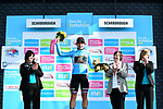 Dutch National Champion Dylan Groenewegen (NED) Lotto NL-Jumbo wins Stage 1 and the race leaders blue jersey of the Tour de Yorkshire 2017 running 174km from Bridlington to Scarborough, England. 28th April 2017. <br /> Picture: ASO/A.Broadway | Cyclefile<br /> <br /> <br /> All photos usage must carry mandatory copyright credit (&copy; Cyclefile | ASO/A.Broadway)