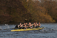 017 .RDU-Stewart .IM2.8+ .Reading Univ BC. Wallingford Head of the River. Sunday 27 November 2011. 4250 metres upstream on the Thames from Moulsford railway bridge to Oxford Universitiy's Fleming Boathouse in Wallingford. Event run by Wallingford Rowing Club..
