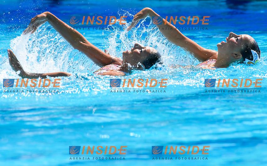 ITA - Italy CERRUTI Linda FERRO Costanza<br /> Duets Technical Routine <br /> Rio de Janeiro 15-08-2016 Maria Lenka Aquatics Center  <br /> Synchronised Swimming <br /> Nuoto Sincronizzato <br /> Foto Andrea Staccioli / Deepbluemedia /Insidefoto