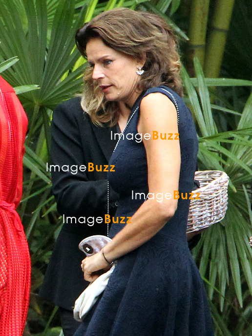 Arrival of the guests of the marriage of Pierre and B&eacute;atrice<br /> <br /> Stephanie de Monaco