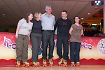 Siobhan O'Neill, Mumstown.ie and Fergus O'Dowd, Local TD who are taking part in Operation Transformation roller skating in Funtasia, Drogheda with Yvonne Francis, Joanne Rudd and Siobhan's husband David White...Photo NEWSFILE/Jenny Matthews.(Photo credit should read Jenny Matthews/NEWSFILE)....This Picture has been sent you under the condtions enclosed by:.Newsfile Ltd..The Studio,.Millmount Abbey,.Drogheda,.Co Meath..Ireland..Tel: +353(0)41-9871240.Fax: +353(0)41-9871260.GSM: +353(0)86-2500958.email: pictures@newsfile.ie.www.newsfile.ie.FTP: 193.120.102.198.