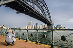 A great foreshore walk from Milsons Point to Blues Point offers a different view of the city and harbour. <br />