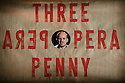 London, UK. 25.05.2016. THE THREEPENNY OPERA by Bertolt Brecht and Kurt Weill in a new adaptation by Simon Stephens, directed by Rufus Norris, opens in the Olivier Theatre on 26 May as part of the £15 Travelex season. Lighting design is by Paule Constable with set and costume design by Vicki Mortimer. Picture shows: Rory Kinnear (Macheath). Photograph © Jane Hobson.