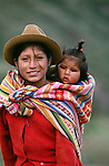 Quechua children, Peru