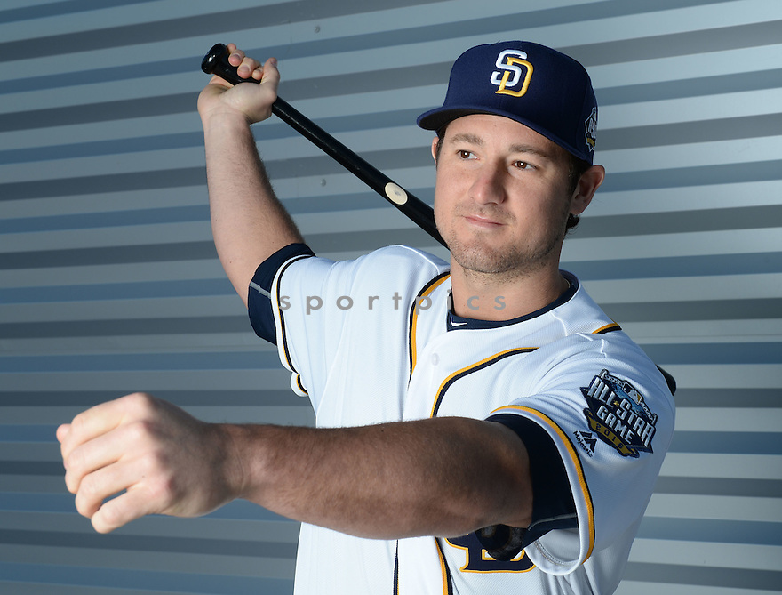 San Diego Padres Jason Hagerty (67) during photo day on February 26, 2016 in Peoria, AZ.