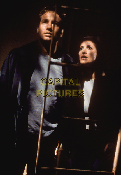 The X-Files (1993 - )<br /> (Season 6, Episode 1, &quot;The Beginning&quot;)    <br /> David Duchovny, Gillian Anderson <br /> *Filmstill - Editorial Use Only*<br /> CAP/KFS<br /> Image supplied by Capital Pictures