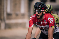Jelle Vanendert (BEL/Lotto-Soudal)<br /> <br /> 104th Li&egrave;ge - Bastogne - Li&egrave;ge 2018 (1.UWT)<br /> 1 Day Race: Li&egrave;ge - Ans (258km)