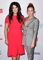 "HOLLYWOOD- SEPTEMBER 27:  Monica Lewinsky and Brittany Snow at the TLC ""Give a Little"" Awards at NeueHouse Hollywood on September 27, 2017 in Hollywood, California. (Photo by Scott Kirkland/PictureGroup)"