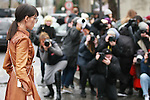 05/03/2017, Paris - Paris Fashion Week Women AW 2017/2018.<br /> Street style with guests at Celine Show during the Paris Fashion Week in Paris, France on March the 05 of 2017.
