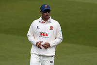 Rishi Patel of Essex during Surrey CCC vs Essex CCC, Specsavers County Championship Division 1 Cricket at the Kia Oval on 11th April 2019