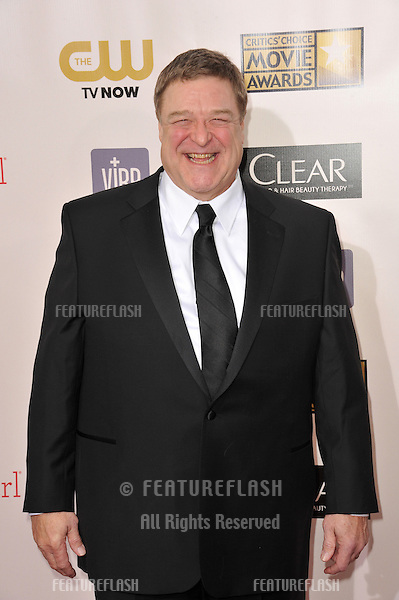 John Goodman at the 18th Annual Critics' Choice Movie Awards at Barker Hanger, Santa Monica Airport..January 10, 2013  Santa Monica, CA.Picture: Paul Smith / Featureflash