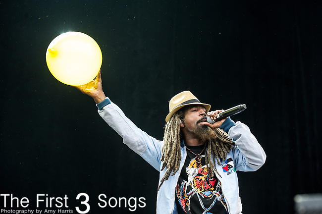 Akil of Jurassic 5 performs at the Outside Lands Music & Art Festival at Golden Gate Park in San Francisco, California.