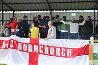 Hornchurch fans do the Posnan during Witham Town vs AFC Hornchurch, Bostik League Division 1 North Football at Spa Road on 14th April 2018