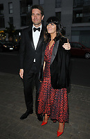 Kris Thykier and Claudia Winkleman at the Save The Children Centenary Gala, The Roundhouse, Chalk Farm Road, London, England, UK, on Thursday 09th May 2019.<br /> CAP/CAN<br /> &copy;CAN/Capital Pictures