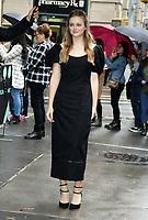 NEW YORK, NY- OCTOBER 31: Anna Baryshnikov seen exiting Build Series in New York City on October 31, 2019. Credit: RW/MediaPunch