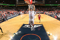 Virginia guard Justin Anderson (1) during the game Jan. 7, 2015, in Charlottesville, Va. Virginia defeated NC State  61-51.