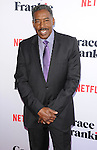 Ernie Hudson arriving at the Grace and Frankie Season 2 Premiere held at Harmony Gold on May 1, 2016