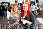 Ashley Little and Ali Bacon, pictured enjoying the Killarney Beerfest at the INEC, Killarney, on Saturday last.