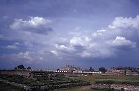 The Toltec ruins of Tula, Hidalgo, Mexico