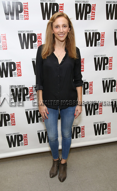 Adrienne Campbell-Holt attends the WP Theater production of 'What We're Up Against' Photo Calll at WP Theater Office on October 5, 2017 in New York City.