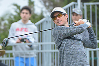 Dylan Frittelli (RSA) watches his tee shot on 10 during Round 3 of the Valero Texas Open, AT&amp;T Oaks Course, TPC San Antonio, San Antonio, Texas, USA. 4/21/2018.<br /> Picture: Golffile   Ken Murray<br /> <br /> <br /> All photo usage must carry mandatory copyright credit (&copy; Golffile   Ken Murray)