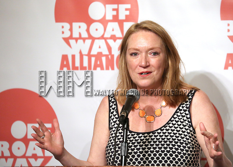 Kristine Nielsen  attending The 3rd Annual Off Broadway Alliance Awards Reception at Sardi's Restaurant in New York City on June 18, 2013