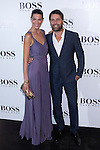 31.05.2012. Celebrities attend opening ceremony of the new BOSS Store Madrid Jorge Juan on the terrace of the Palacio de Cibeles. In the image Laura Sanchez and David Ascanio (Alterphotos/Marta Gonzalez)