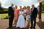 09/05/2015 - Mornington Communion – Emma Mack with her parents Sharon and Tom, sister Sophie, Grandparents Mary and Terry and Auntie Lorraine. Picture: www.newsfile.ie