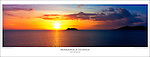PP1170 Mamanuca Islands Sunset, Fiji Islands Poster. <br />