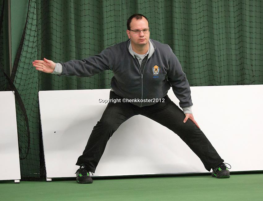 20-01-13, Tennis, Rotterdam, Wildcard for qualification ABNAMROWTT, linesman.