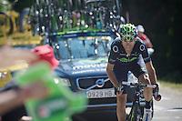 Alejandro Valverde (ESP)<br /> <br /> Tour de France 2013<br /> stage 20: Annecy to Annecy-Semnoz<br /> 125km