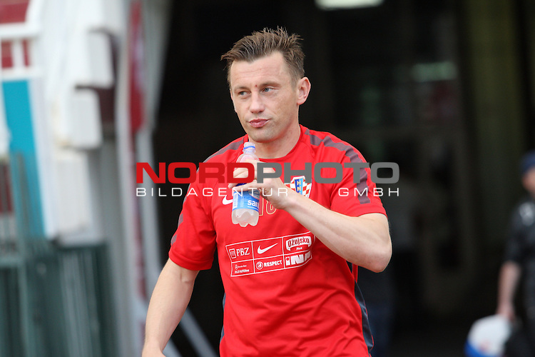 10.06.2015., Croatia, Split - Croatian national football team training in preparations for the upcoming qualifying matches with Italy in Poljud. Ivica Olic. <br /> Foto &copy;  nph / PIXSELL / Ivo Cagalj