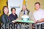 Respond Housing : Pictured at the opening of the Respond Housing opening  at  Convent Walk, Ballybunion on Friday last were Patricia Pienarr, Community worker Respond, Patsy Gleeson, Ballybunion Community Centre, Dan O'Leary, Caretaker & Tom Harkins , resident.