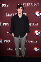 """LOS ANGELES - JAN 16:  Jonah Hauer-King at the PBS Masterpiece """"Little Women"""" TV show panel, Arrivals, TCA Winter Press Tour at the Langham Huntington Hotel on January 16, 2018 in Pasadena, CA"""