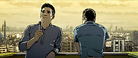 Tehran Taboo (2017)<br /> Babak (voice of Arash Marandi) smokes weed<br /> *Filmstill - Editorial Use Only*<br /> CAP/KFS<br /> Image supplied by Capital Pictures