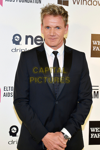 02 March 2014 - West Hollywood, California - Gordon Ramsay. 22nd Annual Elton John Academy Awards Viewing Party held at West Hollywood Park.  <br /> CAP/ADM/CC<br /> &copy;ChewAdMedia/Capital Pictures