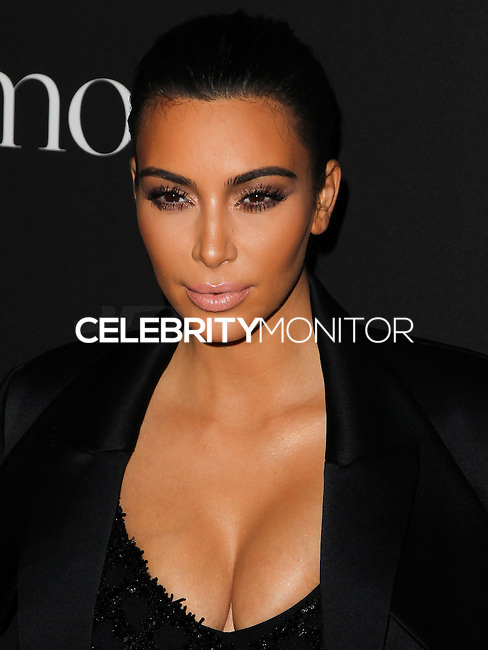 BEVERLY HILLS, CA, USA - DECEMBER 11: Kim Kardashian arrives at the 1st Annual Diamond Ball held at The Vineyard Beverly Hills on December 11, 2014 in Beverly Hills, California, United States. (Photo by Celebrity Monitor)