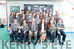 Students who were awarded for their achievements in Tarbert Comprehensive School this week. Pictured front l-r were: Colm McSweeney, Maggie Flavin, Richard Prendiville (Principal), Leila Moloney (Deputy Principal), Michelle McCarthy and Darren Murphy. Middle row l-r were: Emma Daly, Laura McLoughlin, Mary Barry, Eve Dowling, Luke Kelly, Marie O'Flaherty, Ciara Walsh and Eanna O'Connor. Back were: Cian Liston, Andrew Dai, Keela Spillane, Sasha Brent, Aine Enright, Conor Beasley, Michael Heaphy and Ger Stack.