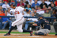 09 July 2007: Diory Hernandez from the 2007 Southern League All-Star Game sponsored by the Mississippi Braves, the Atlanta Braves' Class AA affiliate in Pearl, Miss.